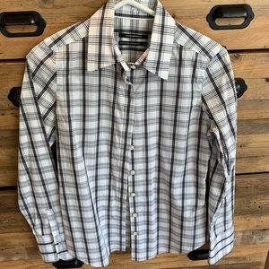Club Monaco Plaid Shirt
